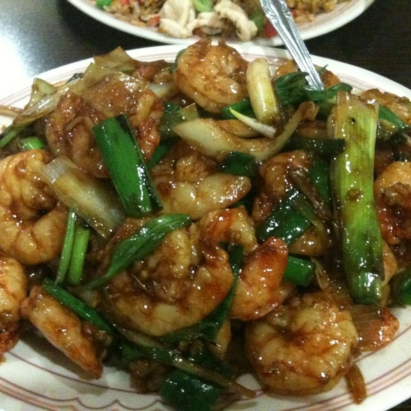 Mongolian Shrimp @ Royal Mandarin Restaurant