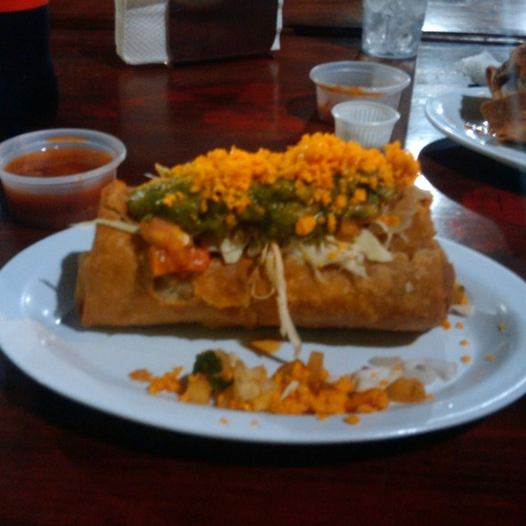 Chimichanga @ Don Nacho