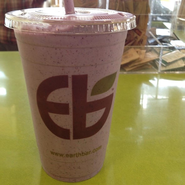 Los Angeles Smoothie: Blueberry Bliss Smoothie