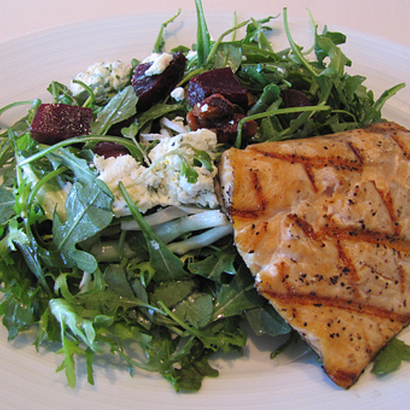 Roasted Beet, Goat Cheese And Arugula Salad - the C restaurant + bar, Monterey, CA