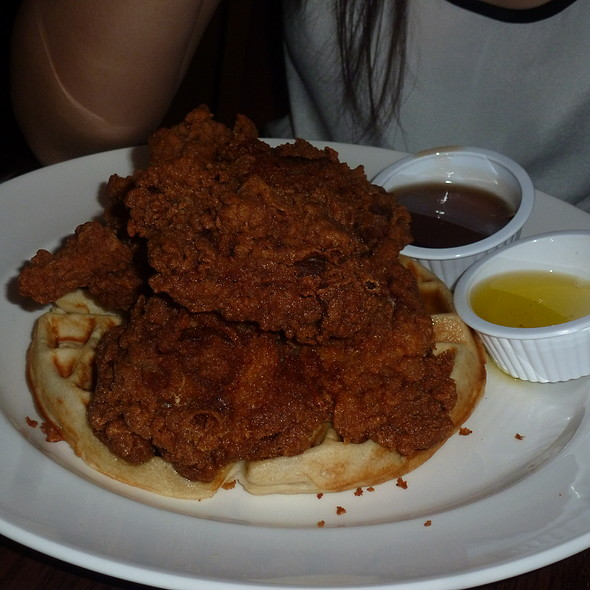 Fried Chicken and Waffles - American Tap Room - Rockville, Rockville
