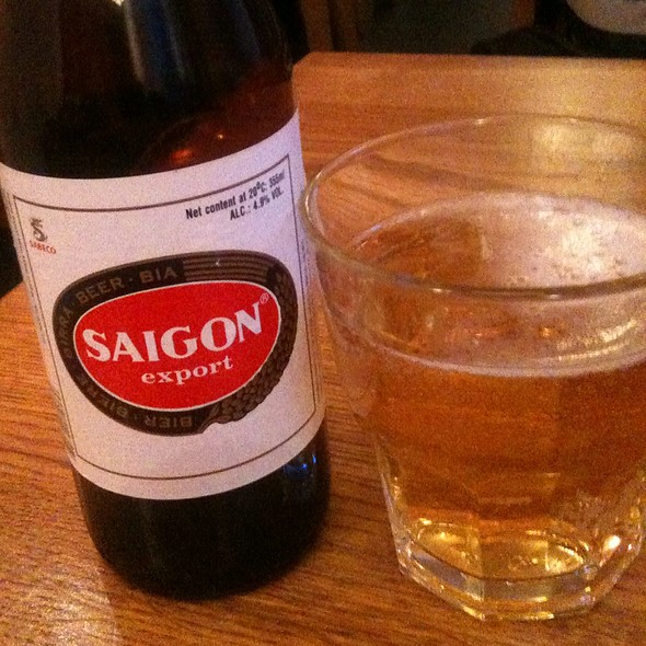 saigon beer @ Quan Do