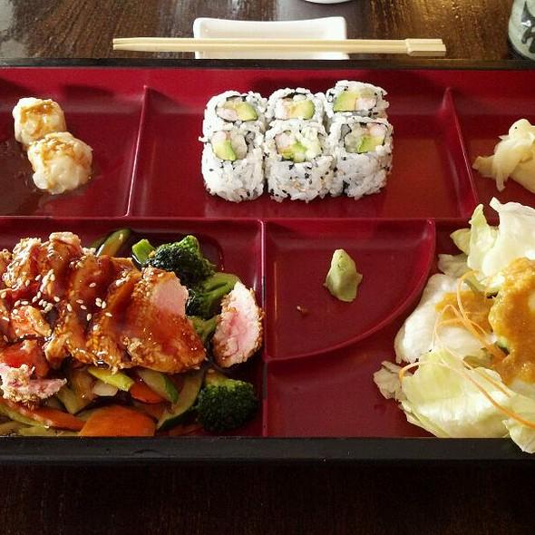 Teriyaki Tuna Bento Box @ Fuji Grill