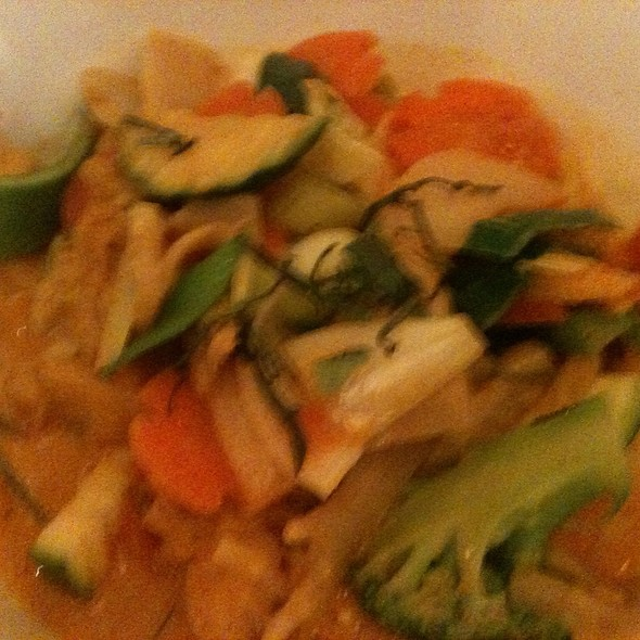 Chicken Red Curry @ Quan Do