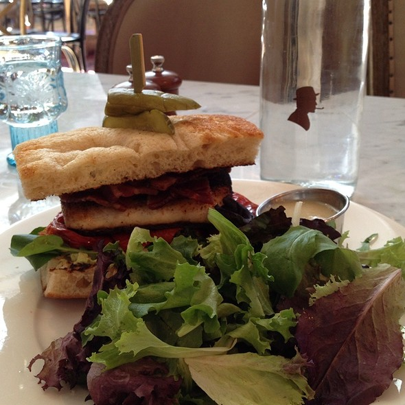 Blackened  Mahi Mahi Sandwich @ Searsucker Scottsdale