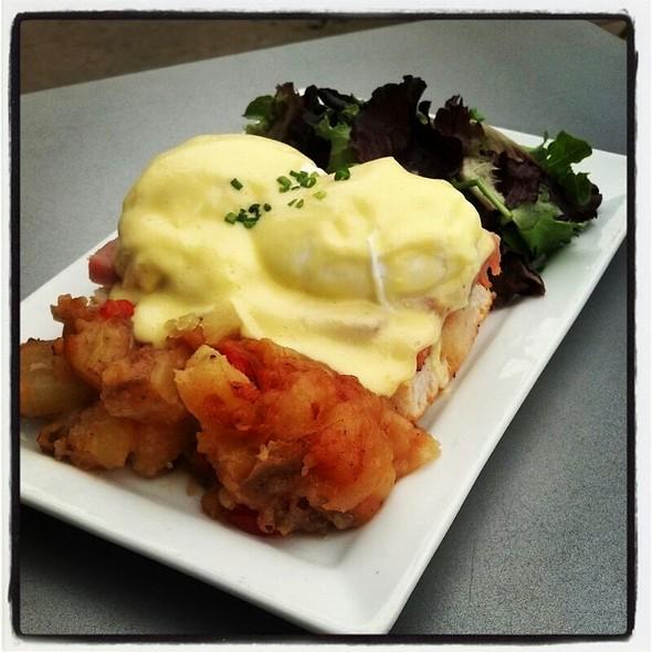 Eggs Benedict w/ Extra Country Ham  - Hickory Lane American Bistro, Philadelphia, PA