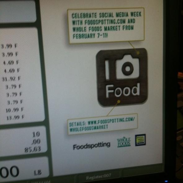 Foodspotting!  @ Whole Foods Market - Bowery