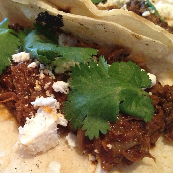 Short Rib Tacos - Dettera Restaurant & Wine Bar, Ambler, PA