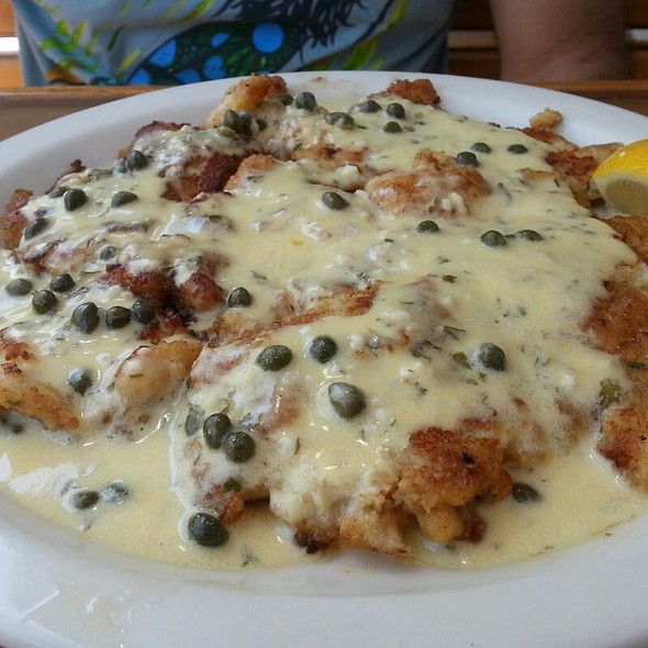 Conch Piccata  @ Cracked Conch Cafe