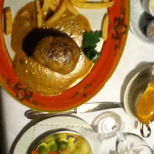 Beef Steak @ Historisches Gasthaus & Hotel Zur Weserei