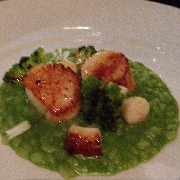 Scallops with Risotto @ Prospect