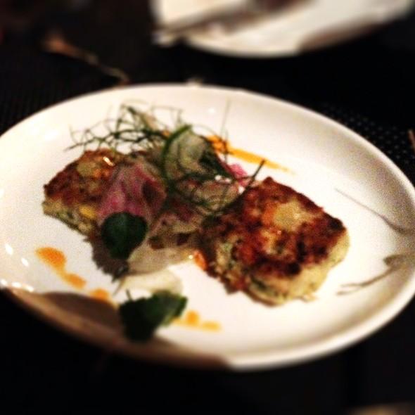 Dungeness Crab Cakes - BLT Steak at Camelback Inn, A JW Marriott Resort, Scottsdale, AZ