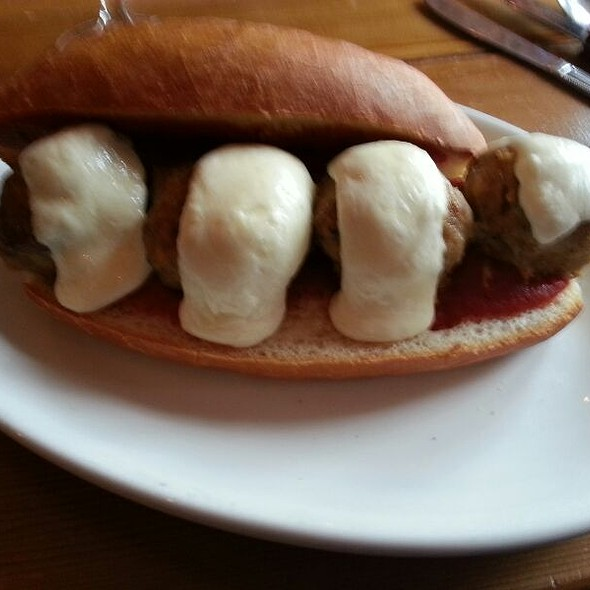 Italian Meatball Grinder @ The Boot