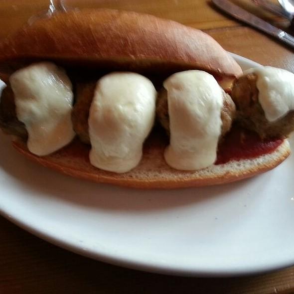 Italian Meatball Grinder @ The Boot