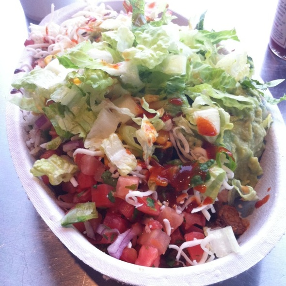 Steak Burrito Bowl @ Chipotle Mexican Grill - Henrietta