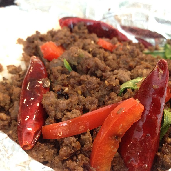 Thai Basil Beef @ Streets Of Thailand