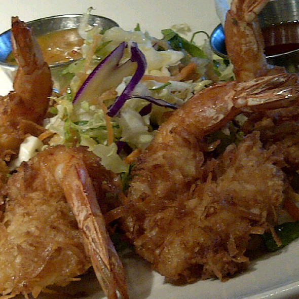 Coconut Shrimp @ Claim Jumper Restaurant