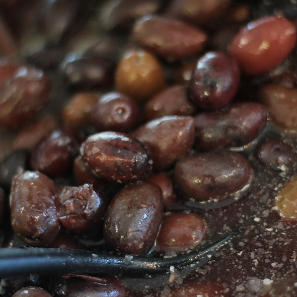 Kalamata olives @ Leila's Mediterranean