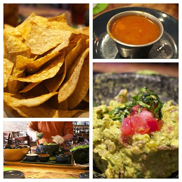 Guacamole In Action - Rocco's Tacos and Tequila Bar, West Palm Beach, FL