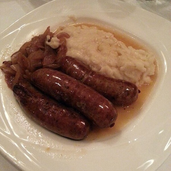 Bangers and Mash - Langan's, New York, NY
