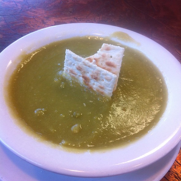 Split Pea Soup @ Tony's Deli & Restaurant