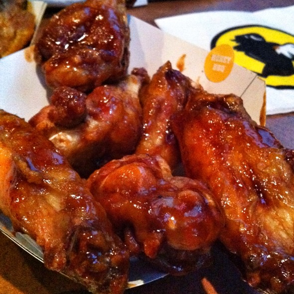 Honey BBQ Chicken Wings @ Buffalo Wild Wings