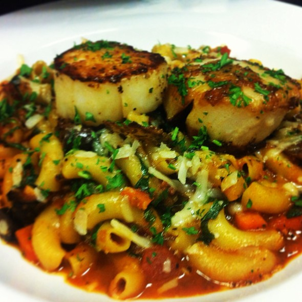 Scallops With Anchovy Sauce - Baci Bistro and Bar, Pleasanton, CA