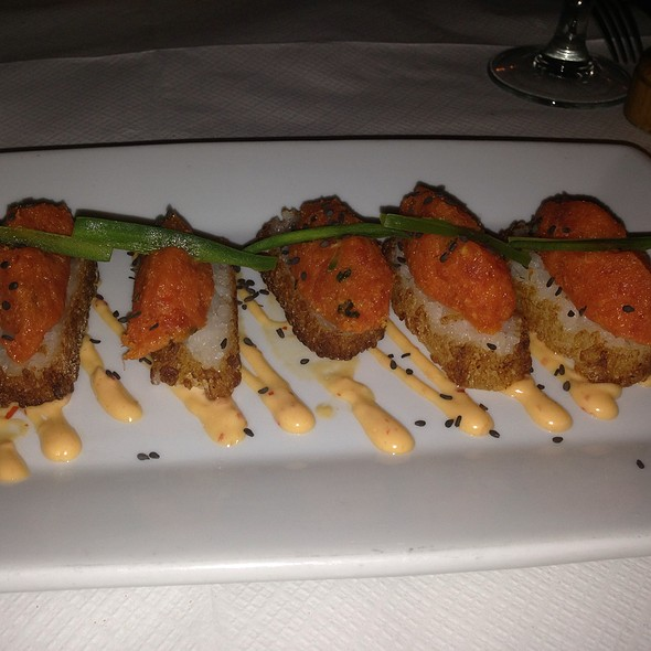 Crispy Rice with Spicy Tuna - Rue 57, New York, NY