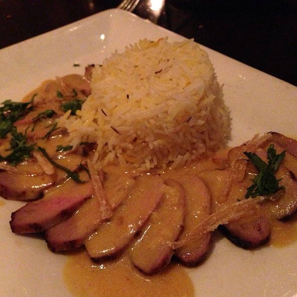 Honey Ginger Duck - Rasika, Washington, DC