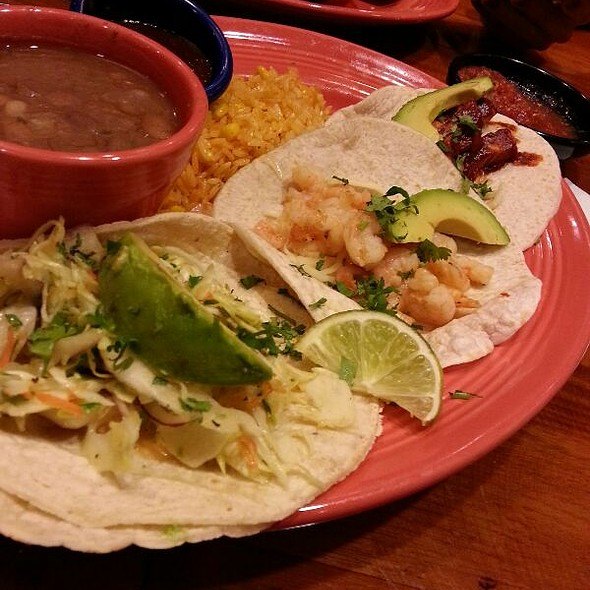 Taco Plate With Shrimp Fish And Chicken  - Cozymel's Mexican Grill - El Segundo, El Segundo, CA