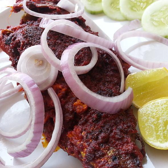 Masala fried fish @ Moonraker's
