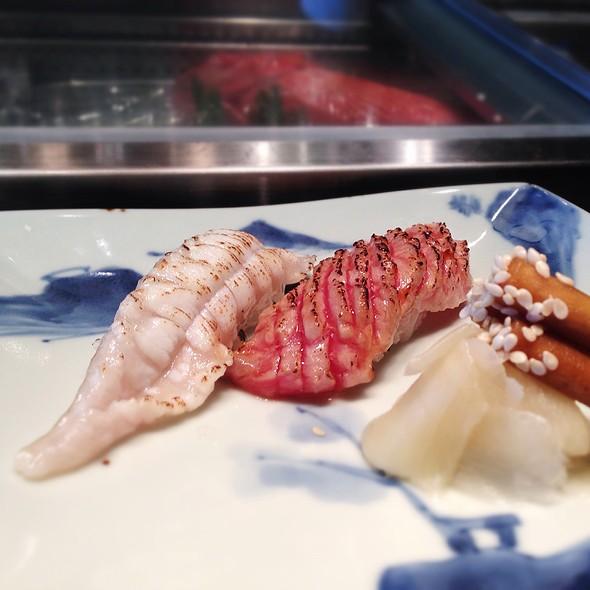 Seared Toro Sushi @ Inagiku at ifc