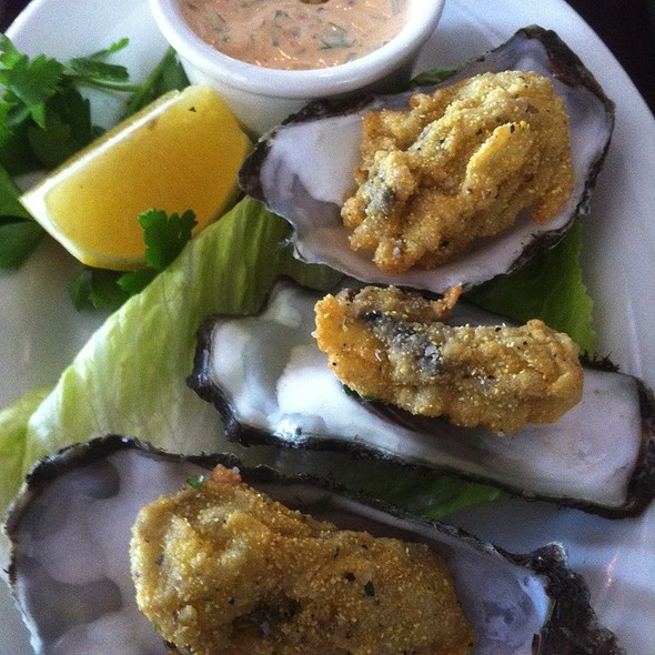 fried oysters @ Barbrix
