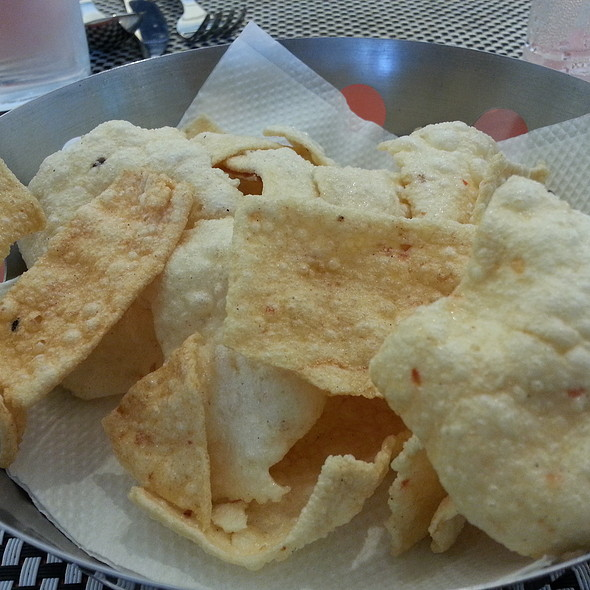 Fried papads @ Seagull, Fisherman's Cove