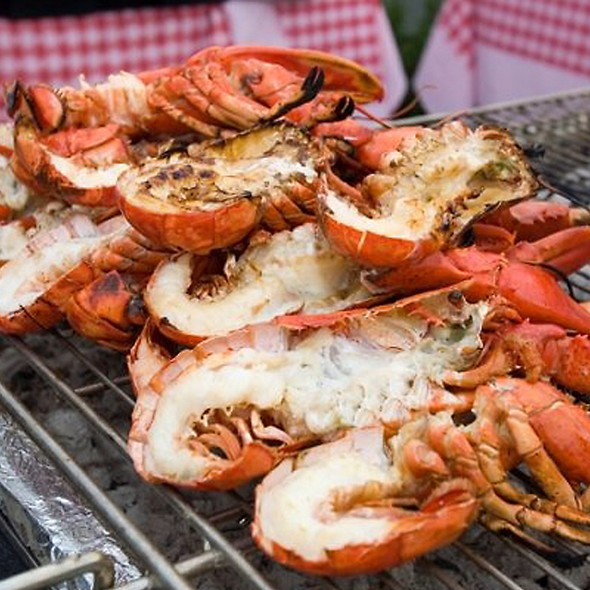 Grilled Lobsters - Shaw's Crab House - Chicago, Chicago, IL