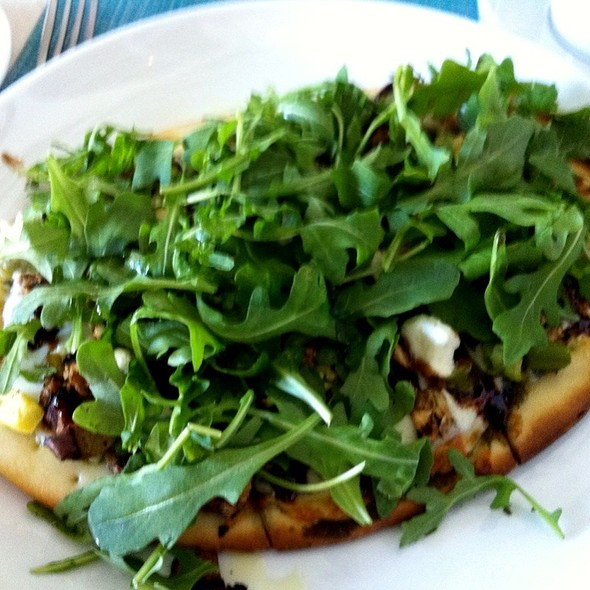 grilled vegetable flatbread - Essensia Restaurant & Lounge, Miami Beach, FL