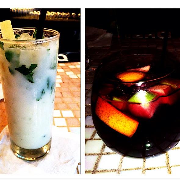 Coconut Mojito & Sangria - Sazon NYC, New York, NY