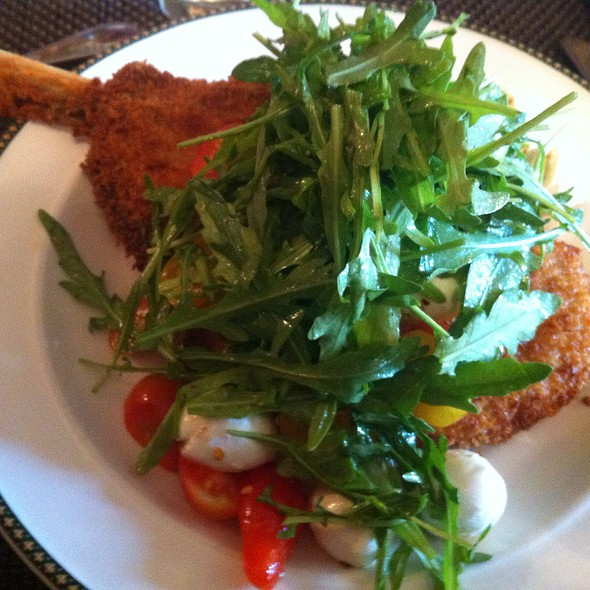Veal chop milanese @ NYSE Lunch Club