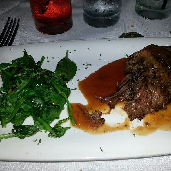 Braised Short Ribs Of Beef - Fleming's Steakhouse - LA, Los Angeles, CA