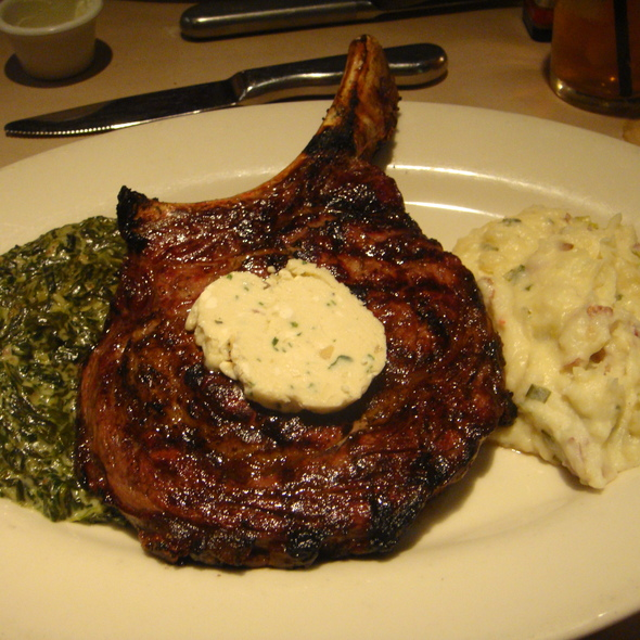 Prime Bone-in Rib Chop 22 oz. @ Birk's