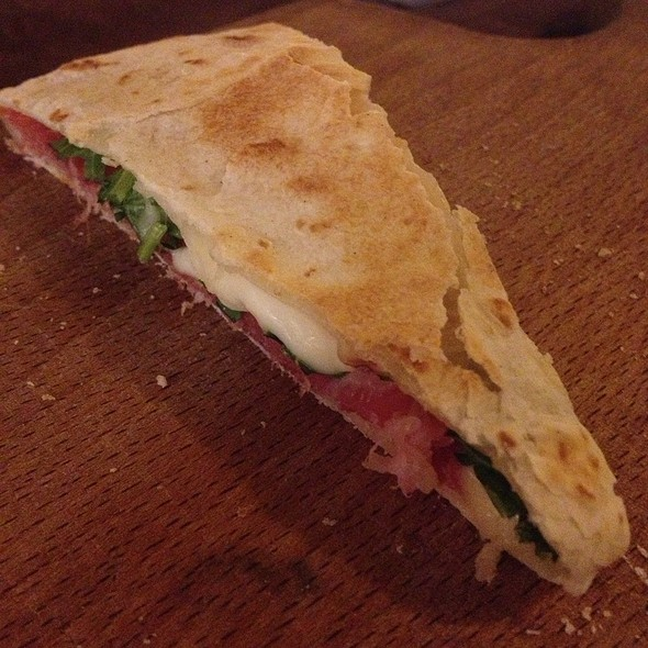 Piadina Romagnola With Parma Ham And Squacquerone Cheese @ VICTOR Pub