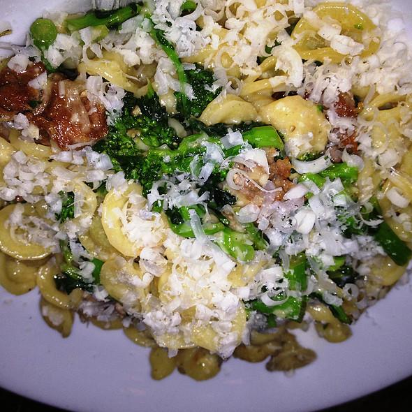 Orecchiette w/ Broccoli Rabe & Fennel Sausage @ Crispo