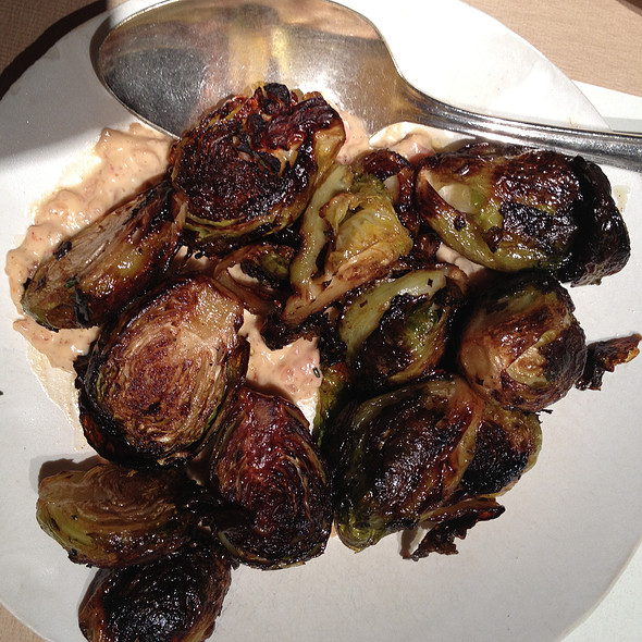 Roasted brussels sprouts @ ABC Kitchen