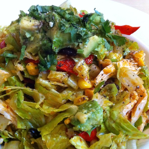 Southwestern Chicken Salad @ Red Grape Pizzeria
