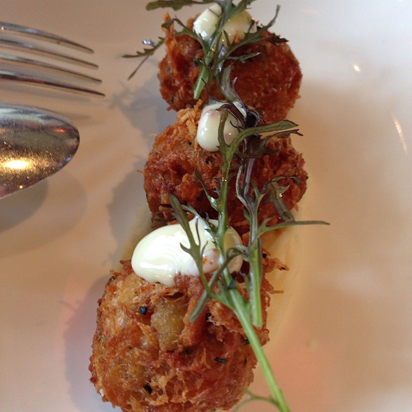 Dungeness Crab Fritters - Boulevard, San Francisco, CA