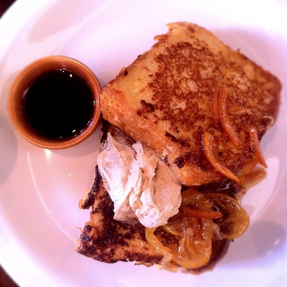 Custard French Toast @ Nopa