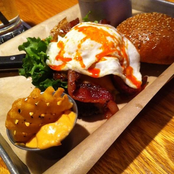 The Hangover Burger - Burger Jones - Minneapolis, Minneapolis, MN