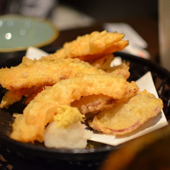 Japanese Pumpkin and Sweet Potato Tempura @ Watami Japanese Casual Restaurant