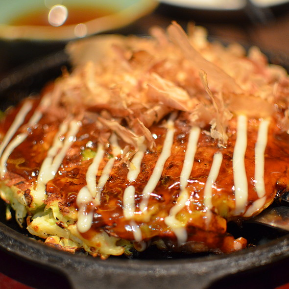 Rice Cake and Cheese Okonomiyaki @ Watami Japanese Casual Restaurant