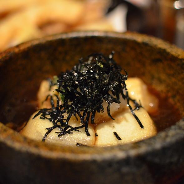 Stone Pot Agedashi Tofu @ Watami Japanese Casual Restaurant